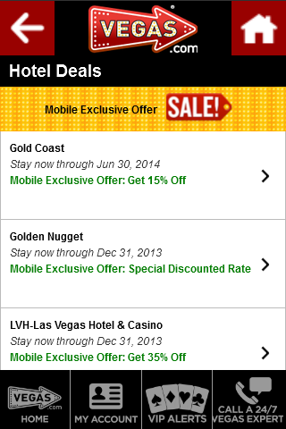 VEGAS.com - screenshot