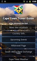 Screenshot of Cape Town Travel Guide
