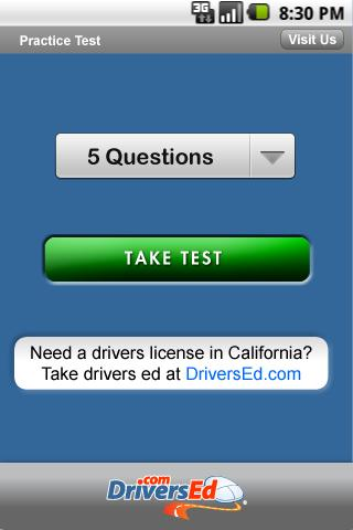Drivers Ed Maine - screenshot