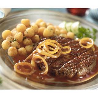 Biefstuk Tartaar Met Gecarameliseerde Uien
