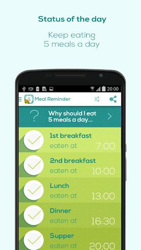 Meal Reminder - Weight Loss screenshot