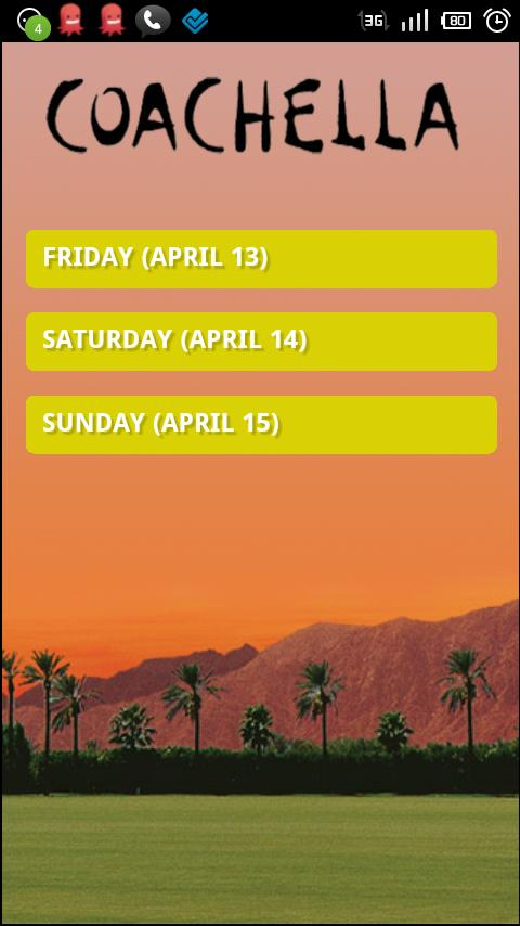 Coachella 2012 - screenshot