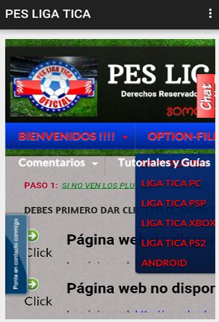 【免費娛樂App】PES LIGA TICA-APP點子