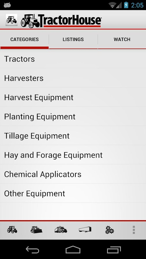 TractorHouse - screenshot