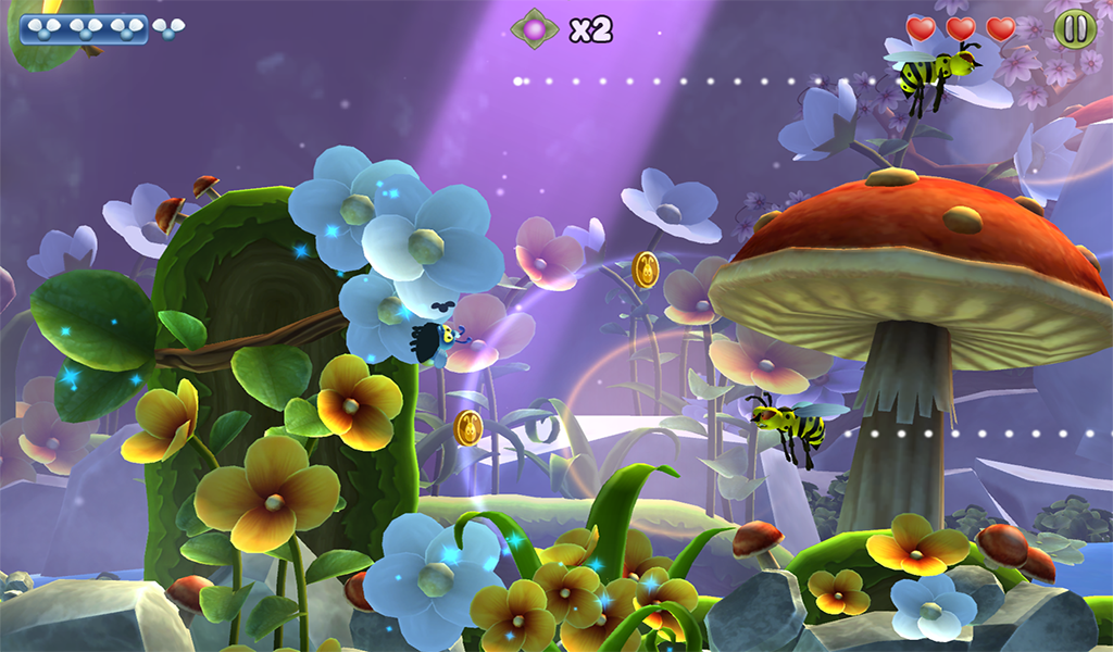 Shiny The Firefly - screenshot