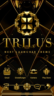 Next Launcher Theme Trilus
