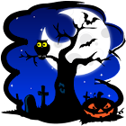 Halloween Skyline LWP icon
