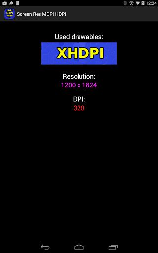 Screen Res HDPI MDPI LDPI