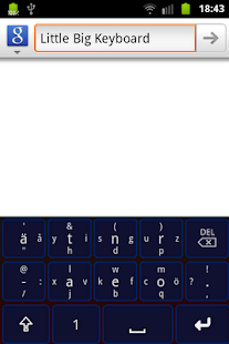 Little Big Keyboard- screenshot thumbnail