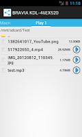 Screenshot of TV Remote
