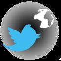 TwitterOnMap icon