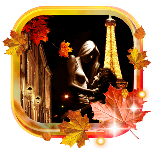 Paris Autumn Night HQ LWP LOGO-APP點子