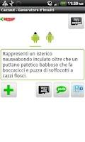 Screenshot of Cazzaut - Generatore insulti