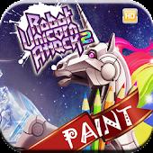 Robot Attack Paint Unicorn