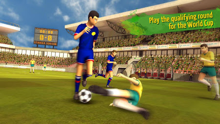 Striker Soccer Brazil 1.2.7 screenshot 193274