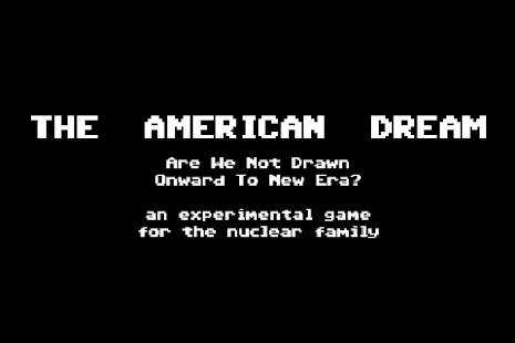 The American Dream- screenshot thumbnail