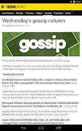BBC Sport Screenshot 34