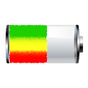 Reggae Rasta Battery Widget icon