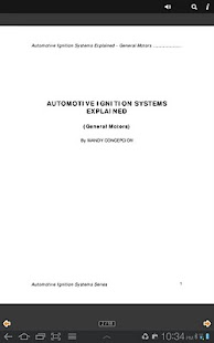 Automotive Ignition Systems GM - screenshot thumbnail
