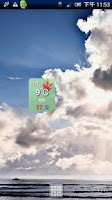 Screenshot of Karuizawa temperature