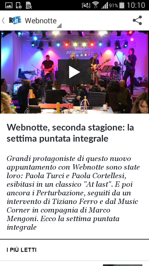 la Repubblica.it- screenshot