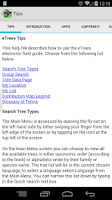 Screenshot of eTrees of Southern Africa Lite