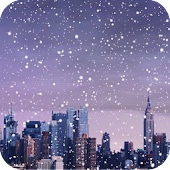 Winter Cities Live Wallpaper