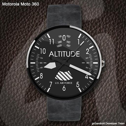Aviator Android Wear WatchFace