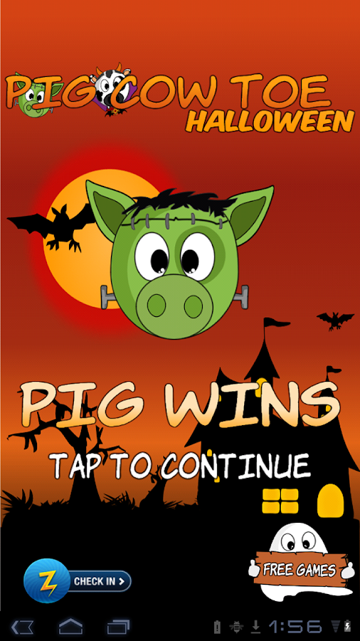 Pig Cow Toe Halloween - screenshot