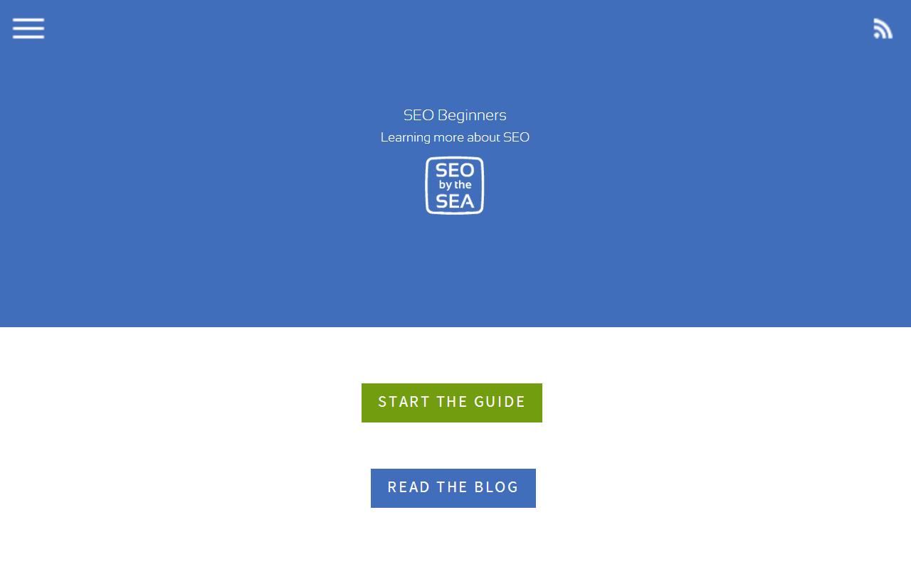 SEO Beginners - screenshot