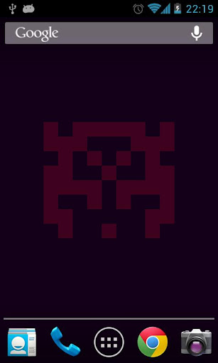 Space Invader Wallpaper