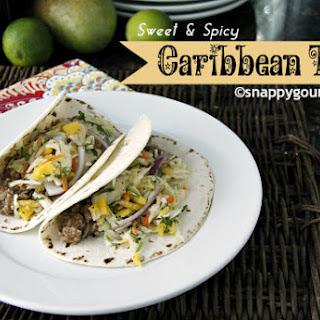 Caribbean Tacos.