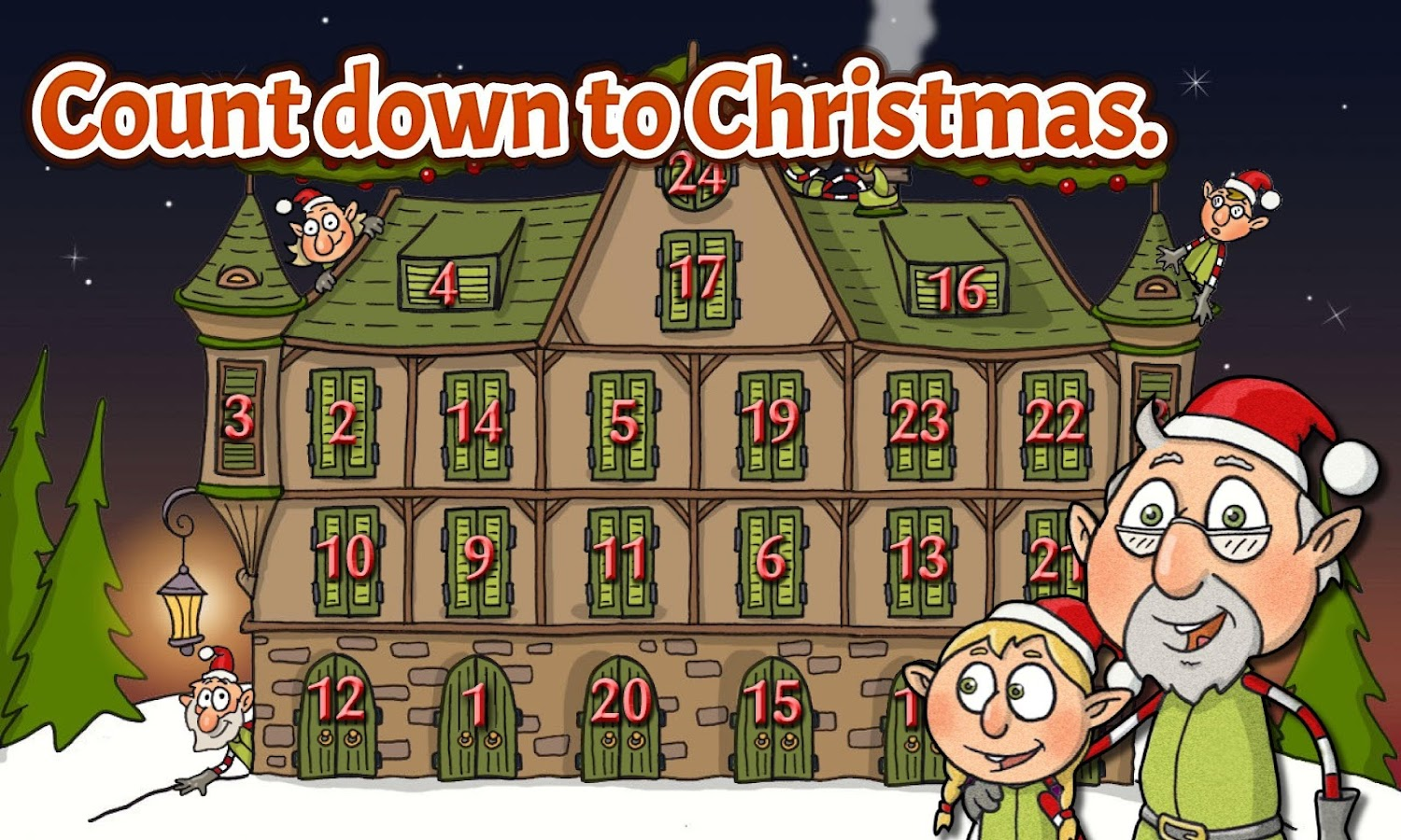 Christmas Countdown Elf Story- screenshot