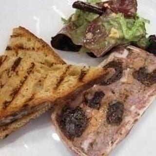 Pork, Chicken Liver And Prune Terrine