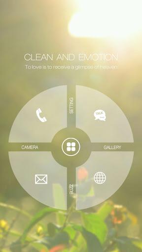 포근한 감성 심플 버즈런처 테마 홈팩