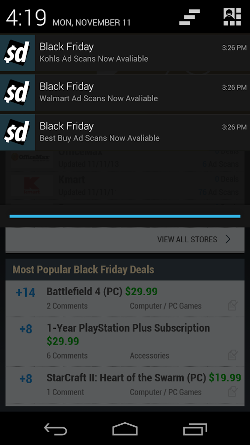 Black Friday App by Slickdeals - screenshot