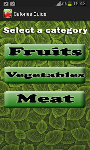 Calories Guide