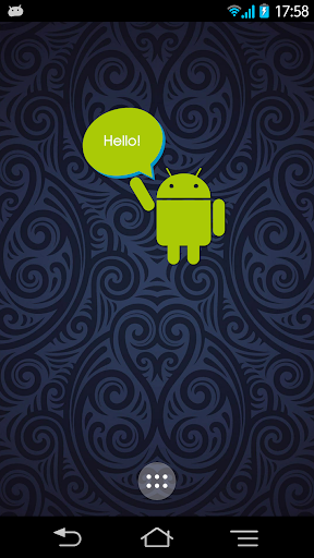 AndroidMascot for ZooperWidget