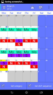 Work Calendar - screenshot thumbnail