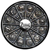 3D Zodiac Pendant Wallpaper
