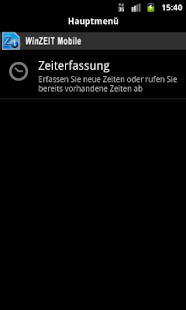 WinZEIT Mobile- screenshot thumbnail