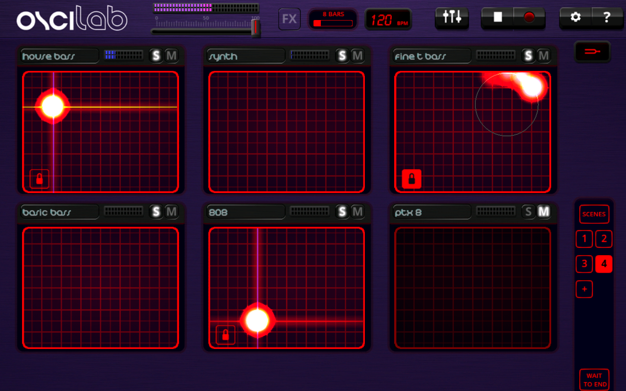 Oscilab - Groovebox- screenshot