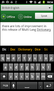 Multi Lang Dictionary Pro Key- screenshot thumbnail