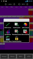 Screenshot of MiPlanilla (turnos de trabajo)