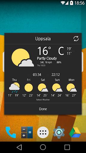 【免費個人化App】Chronus Material Weather Icons-APP點子