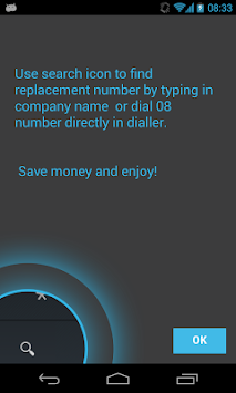 0870 0844 0800 Free Call APK screenshot thumbnail 1