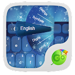 Blue Dreams Keyboard 3.7 Apk
