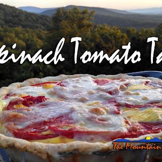 Spinach Tomato Tart