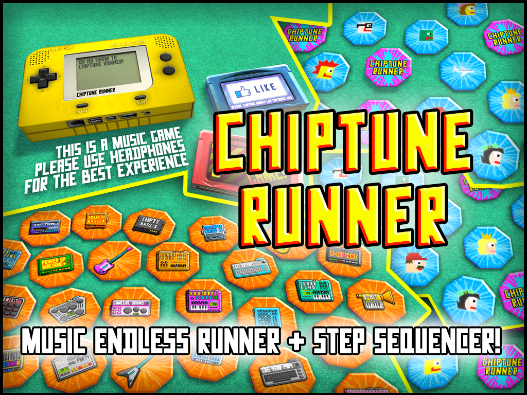 Chiptune Runner - screenshot