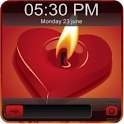 Flame Heart Go Locker Theme icon